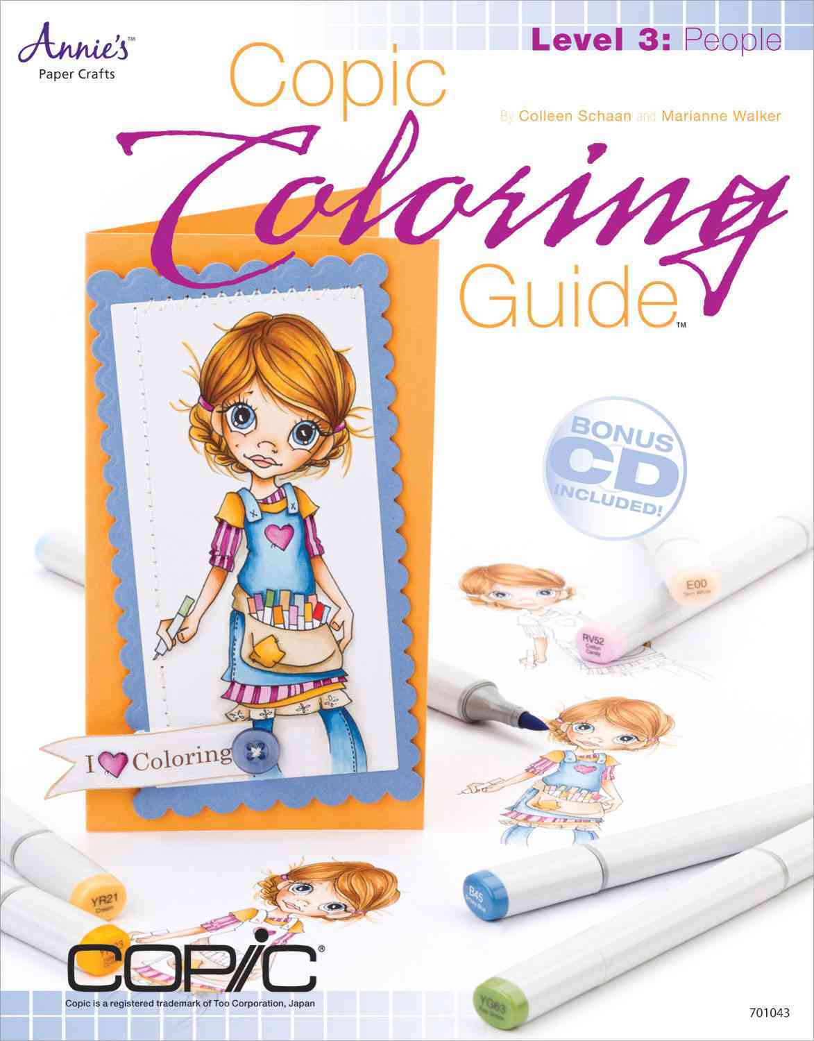 Copic Coloring Guide Level 3 By Schaan, Colleen/ Walker, Marianne